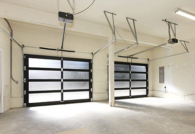 Double Garage Door Interior